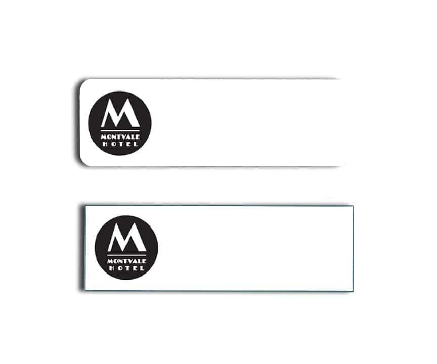 Montvale Hotel Name Tags Badges