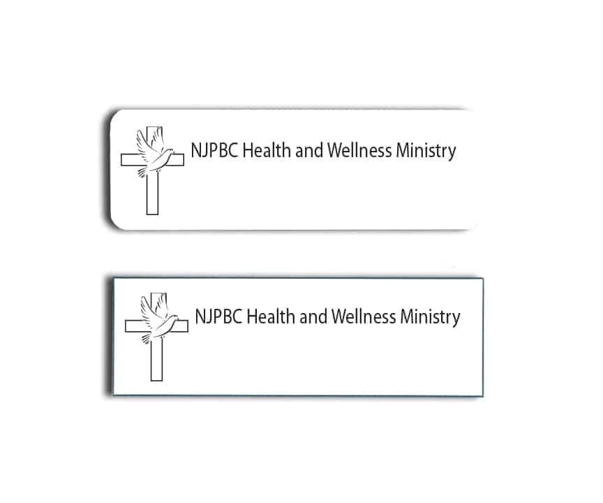 NJPBC Health and Wellness Name Badges