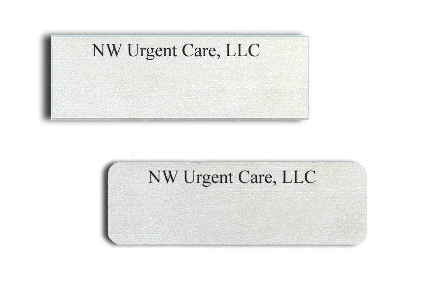 NW Urgent Care name badges