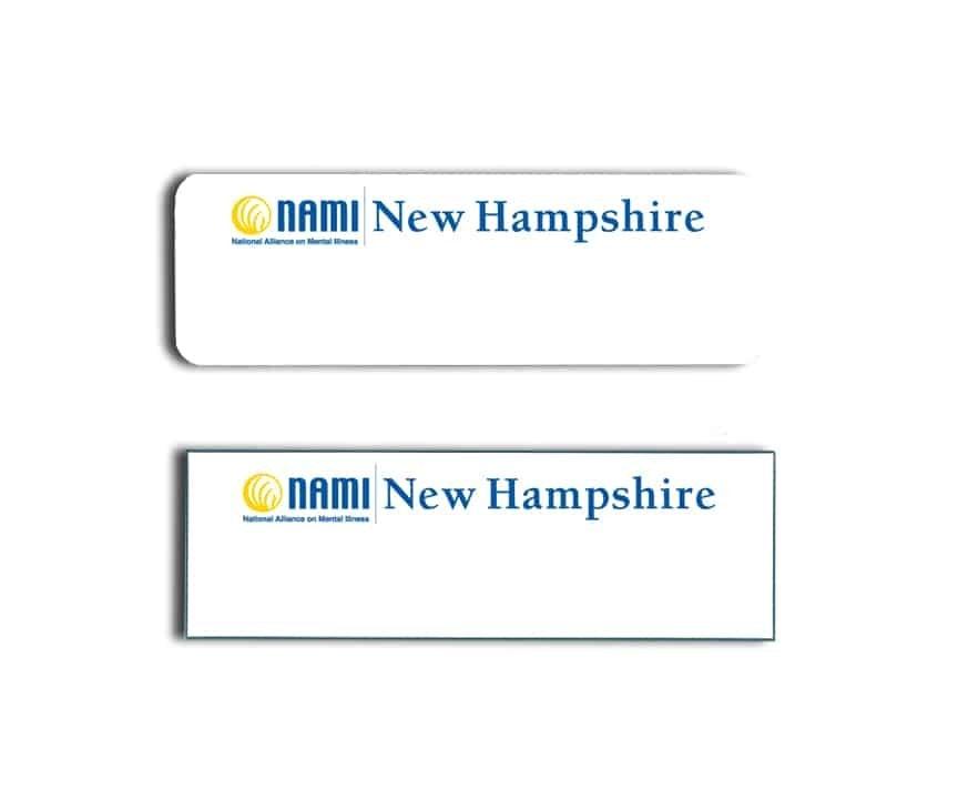 Nami New Hampshire Name Badges