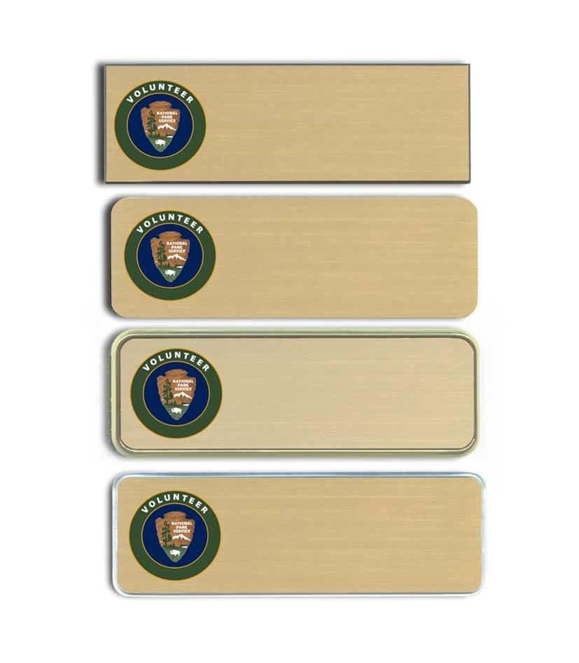 National Park Service Name Badges