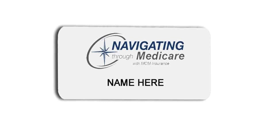 Navigating Through Medicare name badges