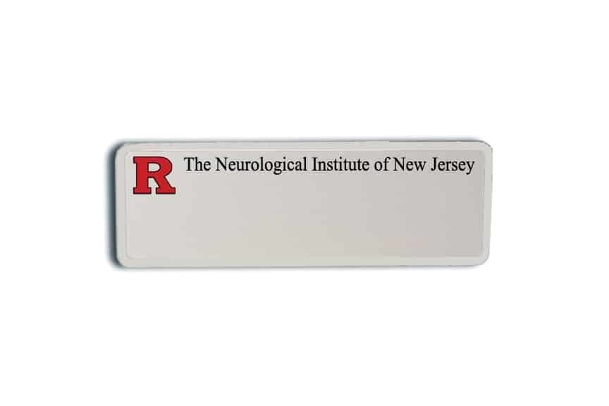 Neurological Institute of New Jersey Name Badges