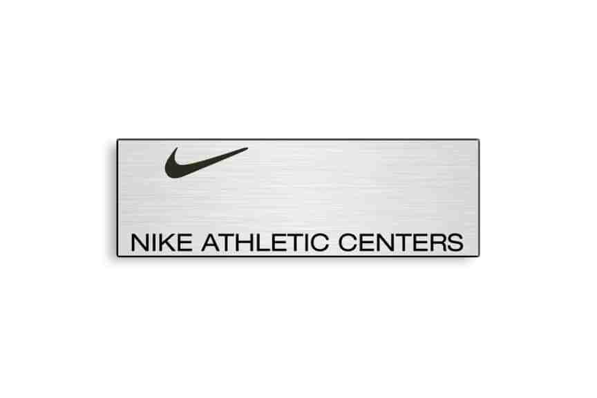 Nike Athletic Centers Name Badges