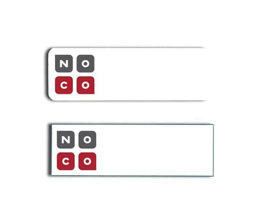 No Commission Real Estate name badges