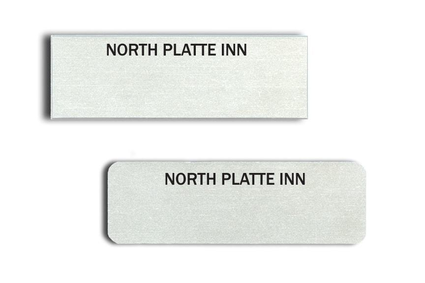 North Platte Inn name tags badges