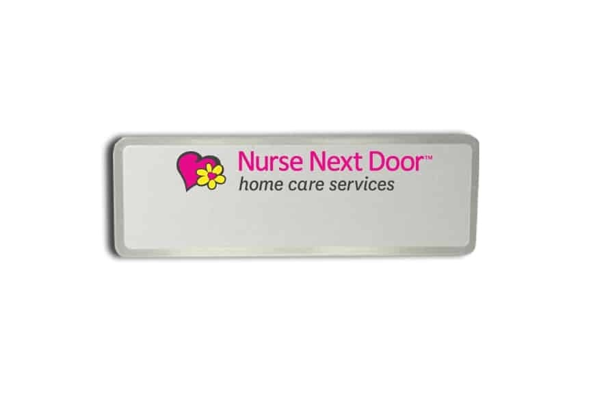 Nurse Next Door Name Badges