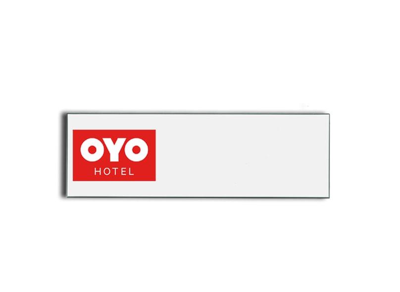 OYO Hotel name badges