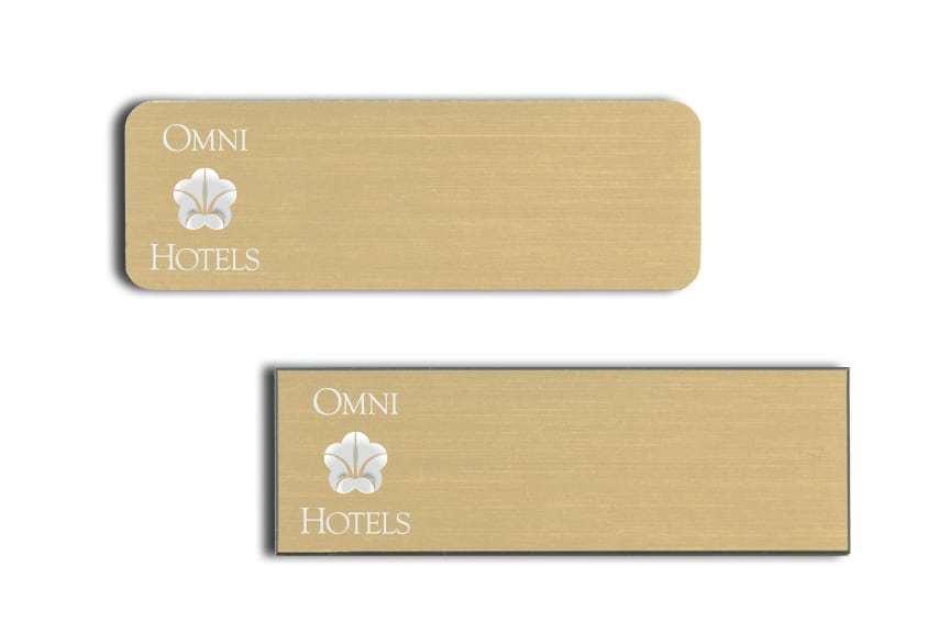 Omni Hotels Name Badges