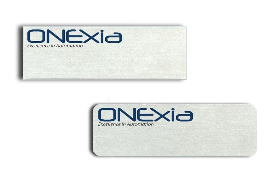 Onexia name badges