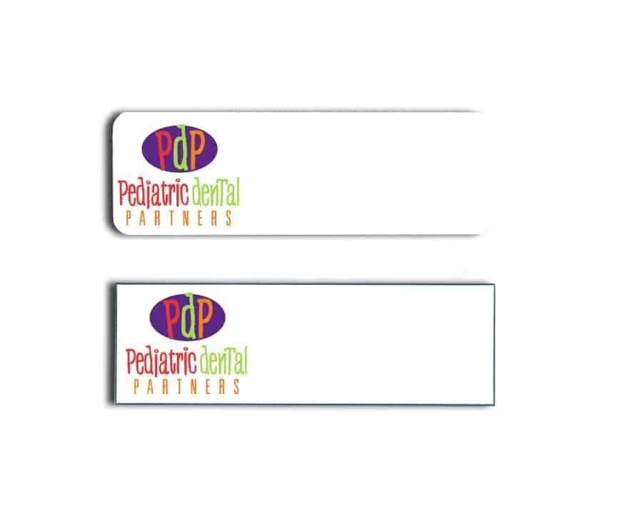 Pediatric Dental Partners Name Badges
