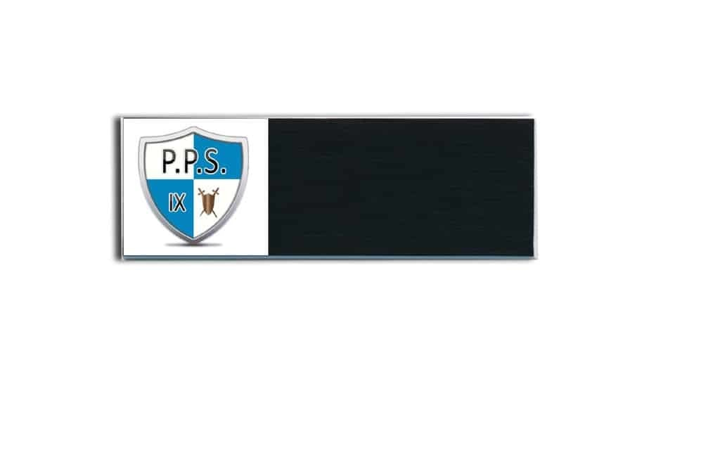 PPS Security Name Tags Badges