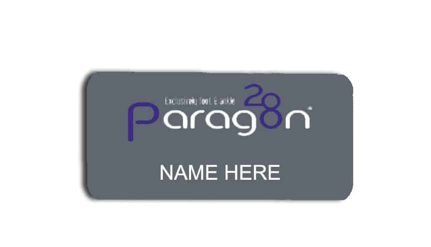 Paragon28 name badges tags
