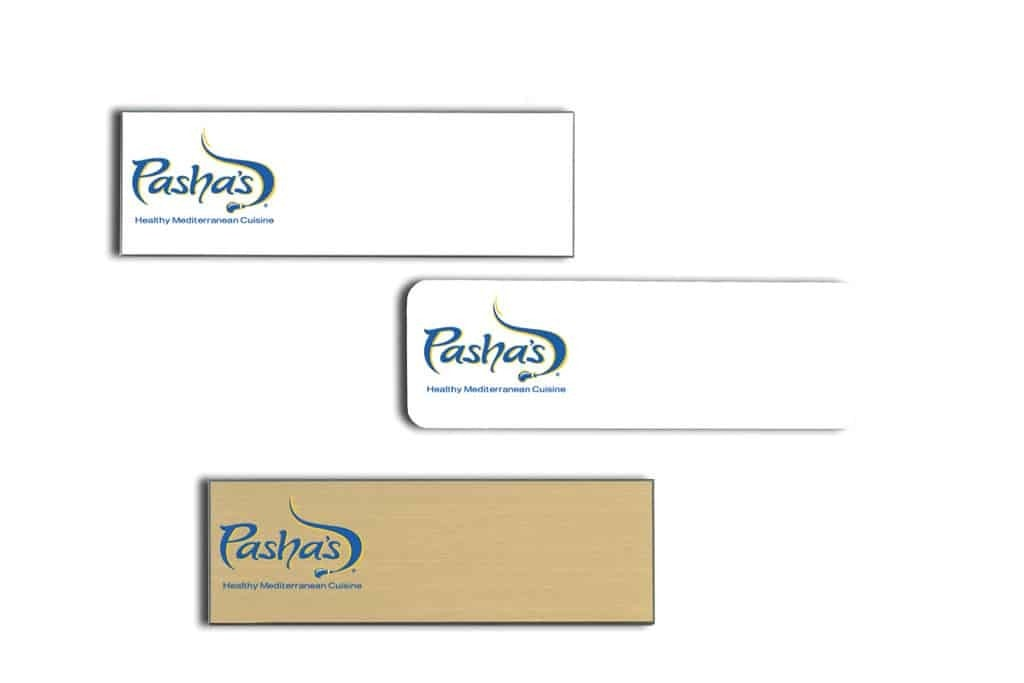 Pashas Name Tags Badges