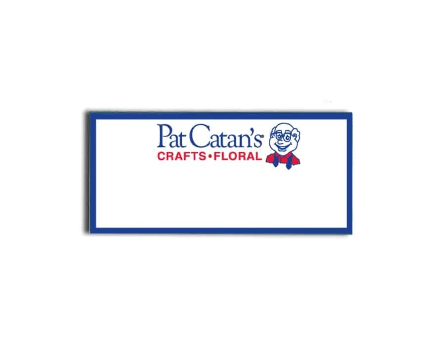 Pat Catan's Crafts Name Badges
