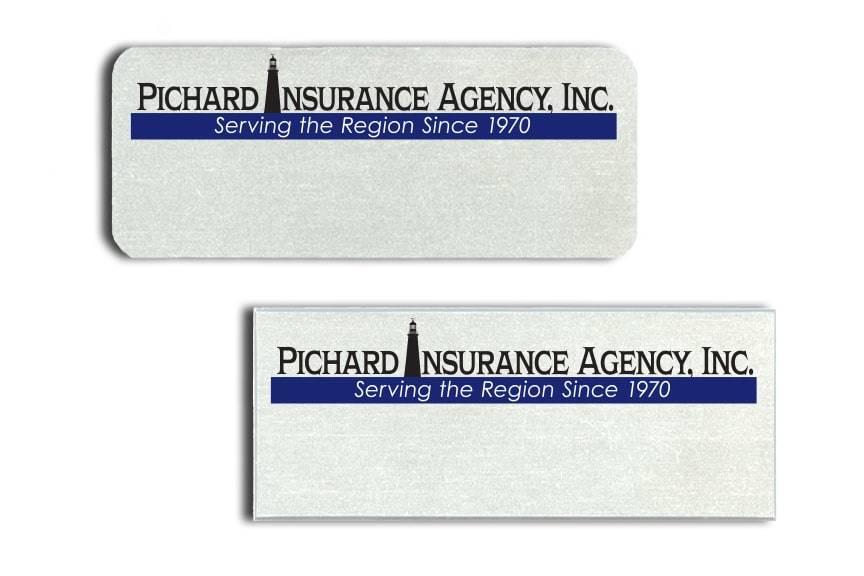 Pichard Insurance Agency Name Badges