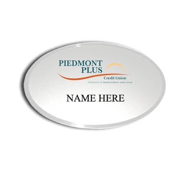 Piedmont Plus Credit Union name badges tags