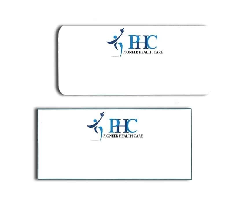 Pioneer Healthcare Name Badges