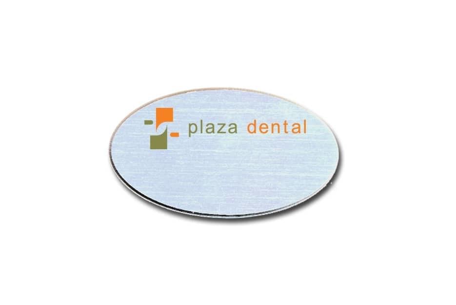 Plaza Dental Name Tags Badges