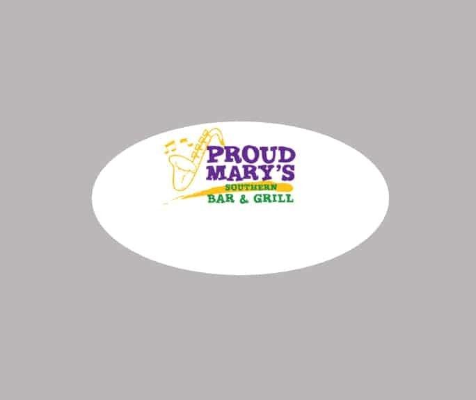 Proud Marys name badges