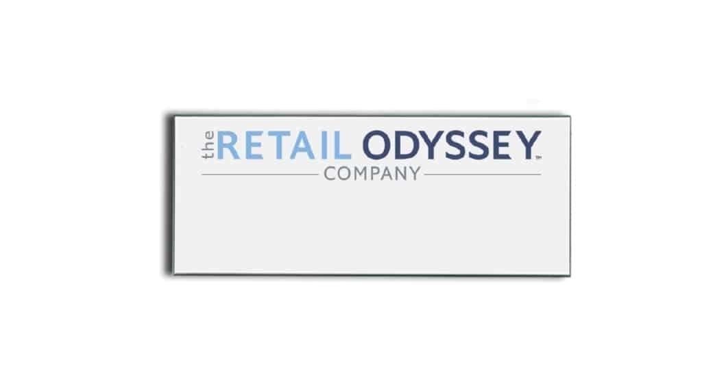 Retail Odyssey name badges