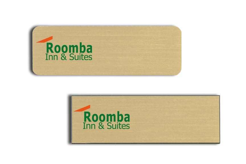 Rommba Inn name badges