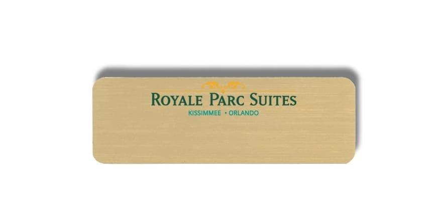 Royal Parc Suites name badges