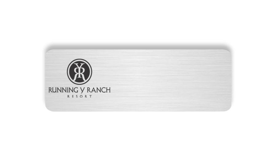 Running Y Ranch Resort Name Badges Tags