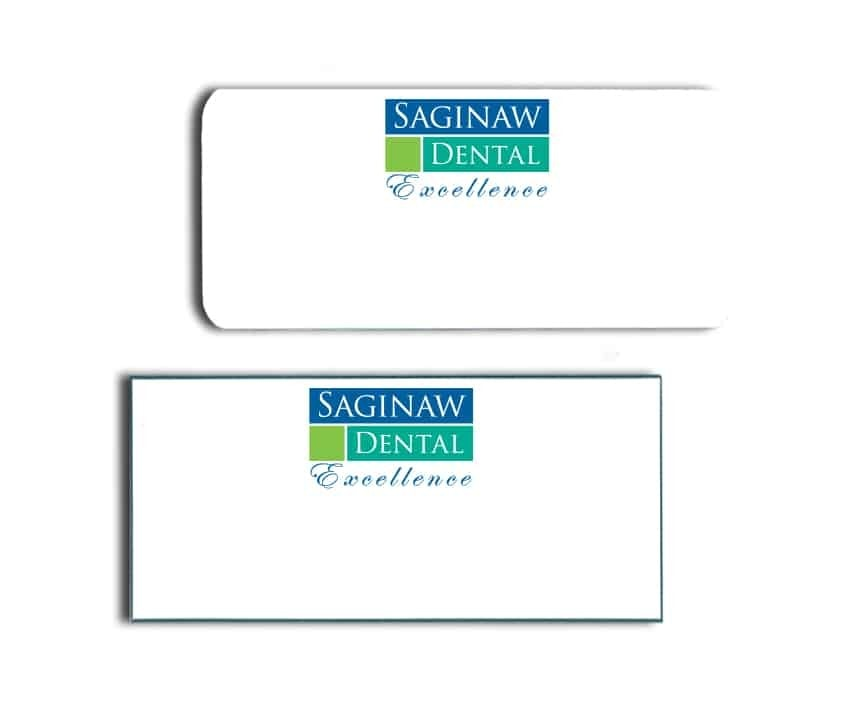 Saginaw Dental Name Badges