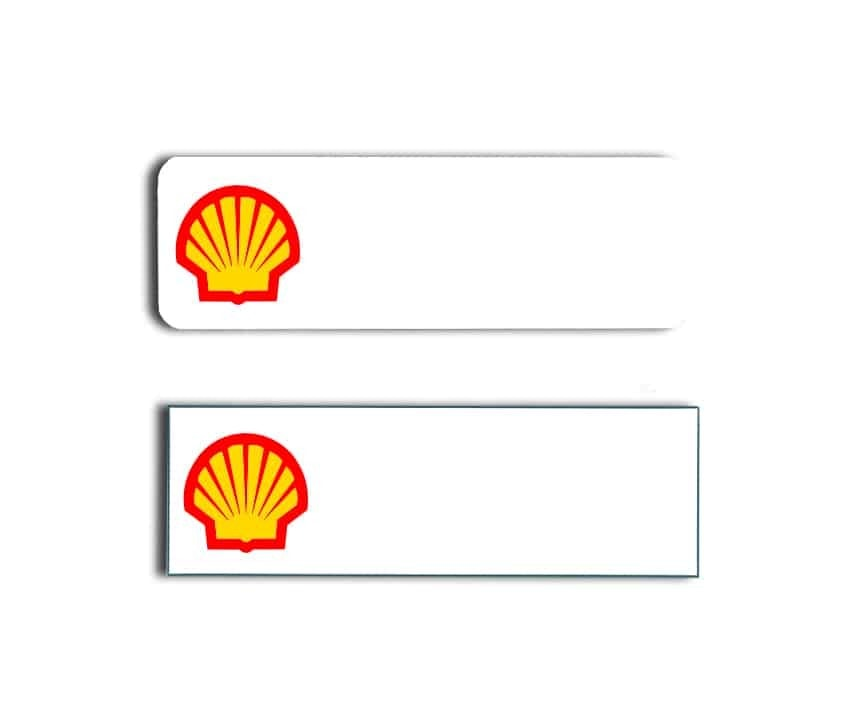 Shell Gas Station Name Badges