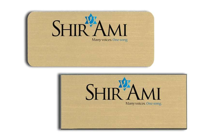 Shir Ami Name Badges