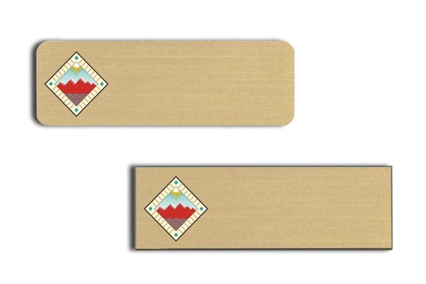 Sierra Grande Lodge name badges