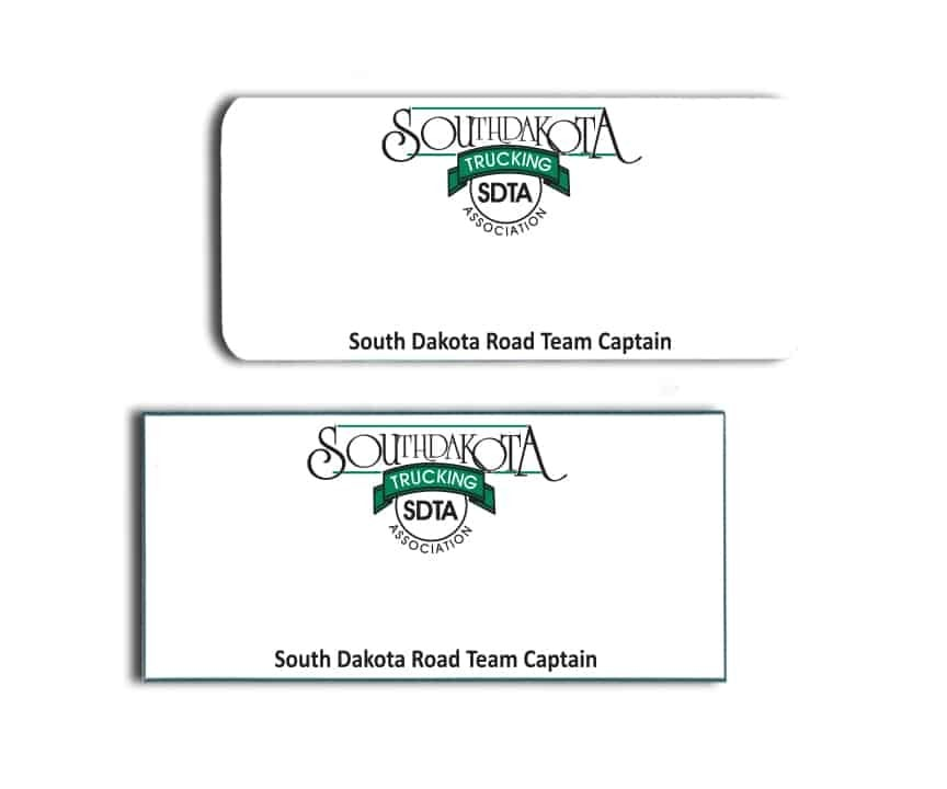South Dakota Trucking Association Name Badges