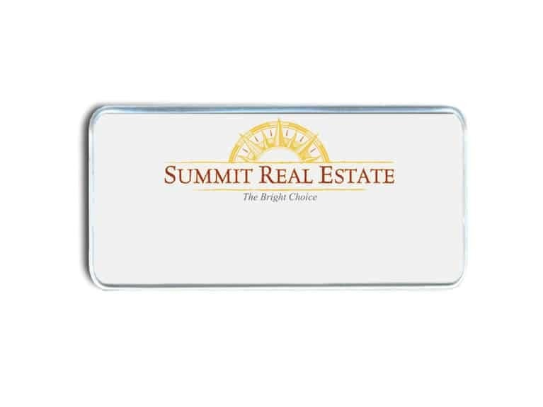 Summit Real Estate name badges