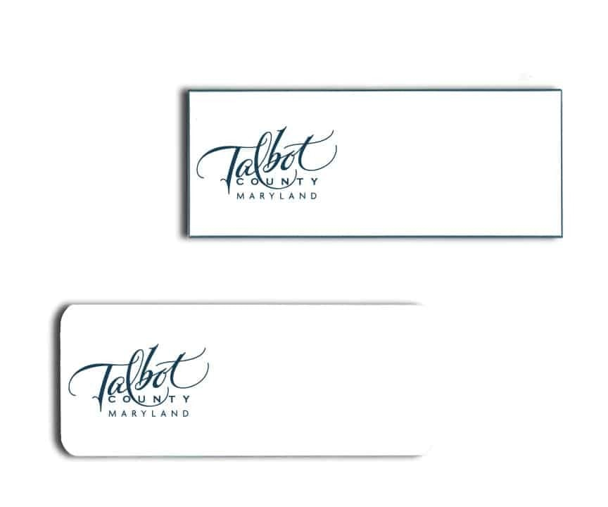 Talbot County Tourism name badges