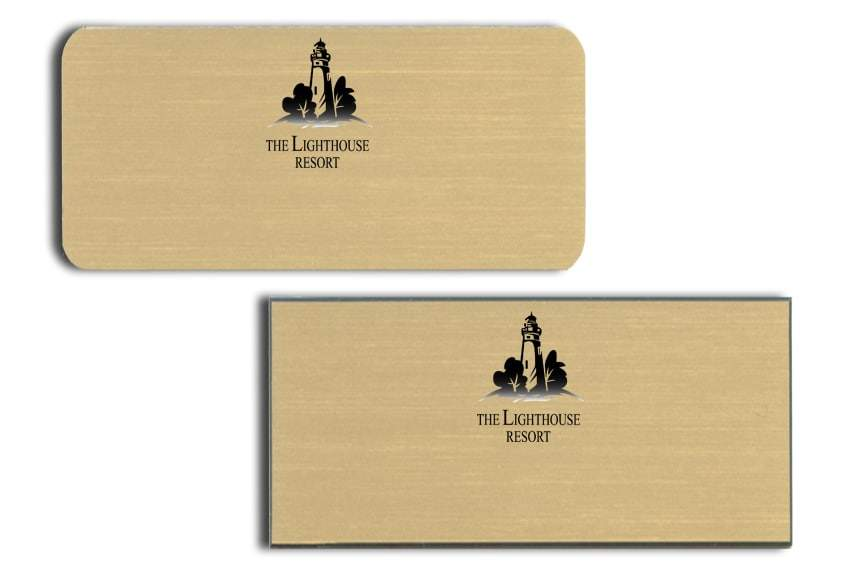 The Lighthouse Resort Name Badges