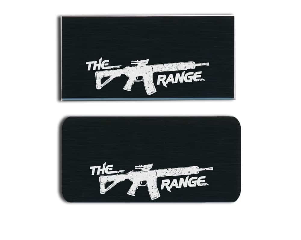 The Range LLC Name Badges