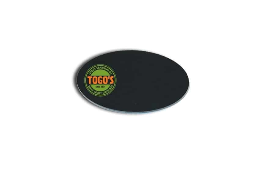 Togos Sandwiches Name Badges