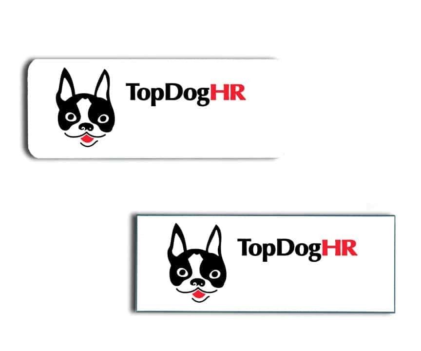 Top Dog HR name badges