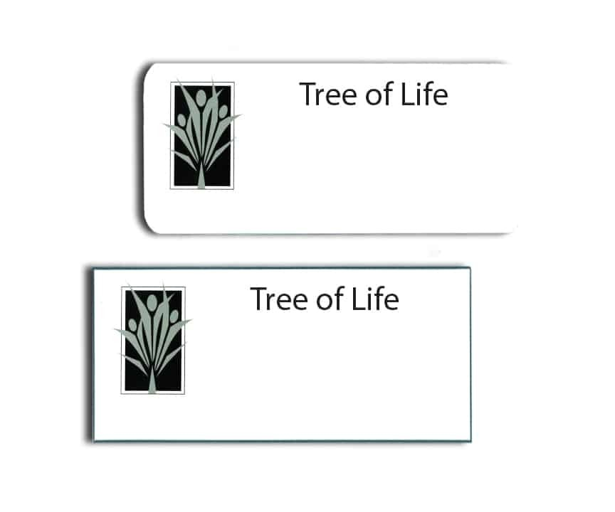 Tree of Life Name Badges