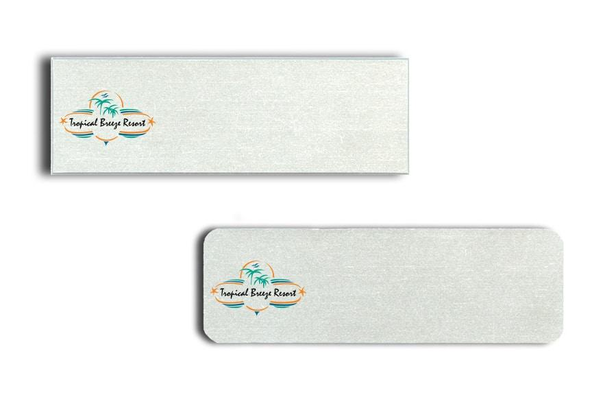Tropical Breeze name badges