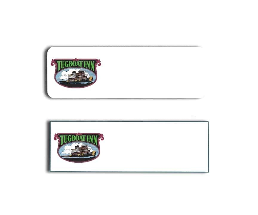 Tugboat Inn Name Badges