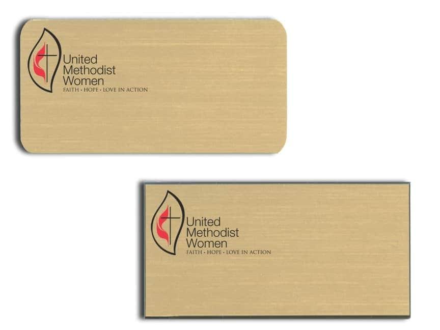 United Methodist Women Name Badges