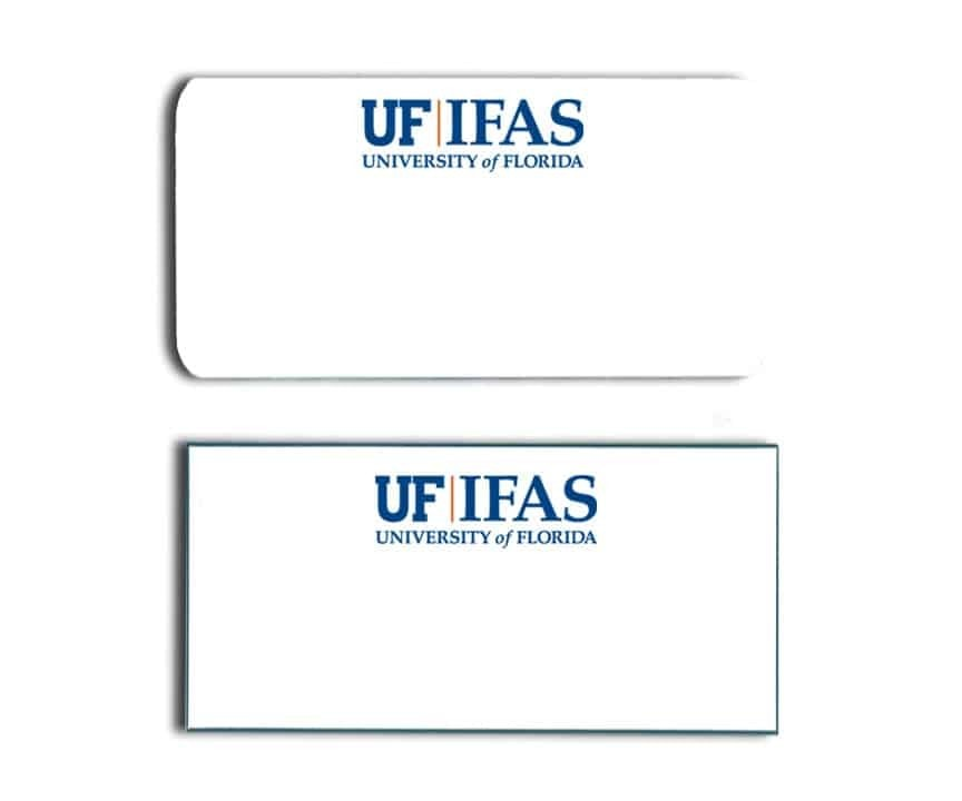 University of Florida IFAS name badges