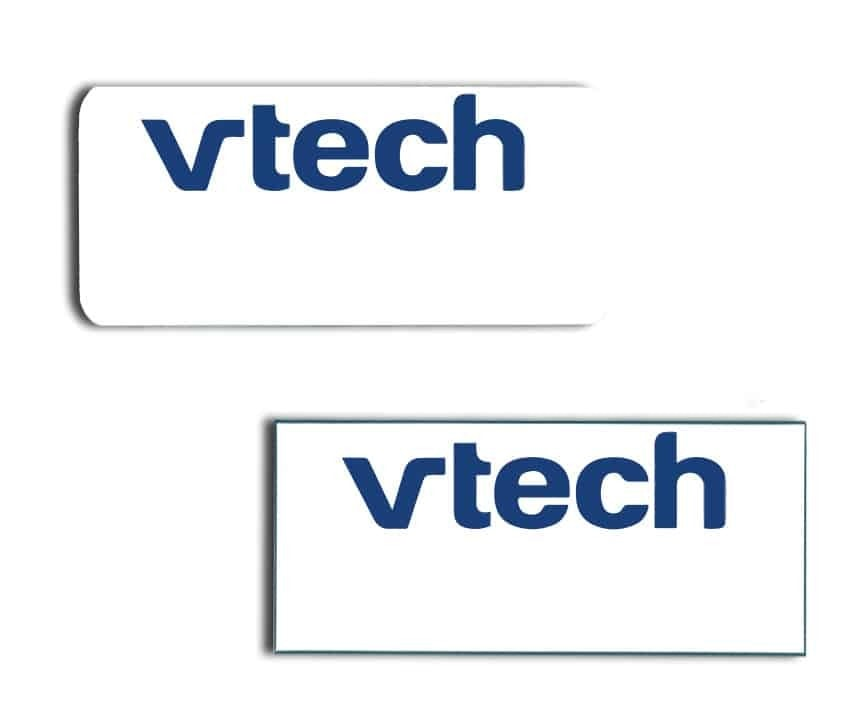 Vtech name badges