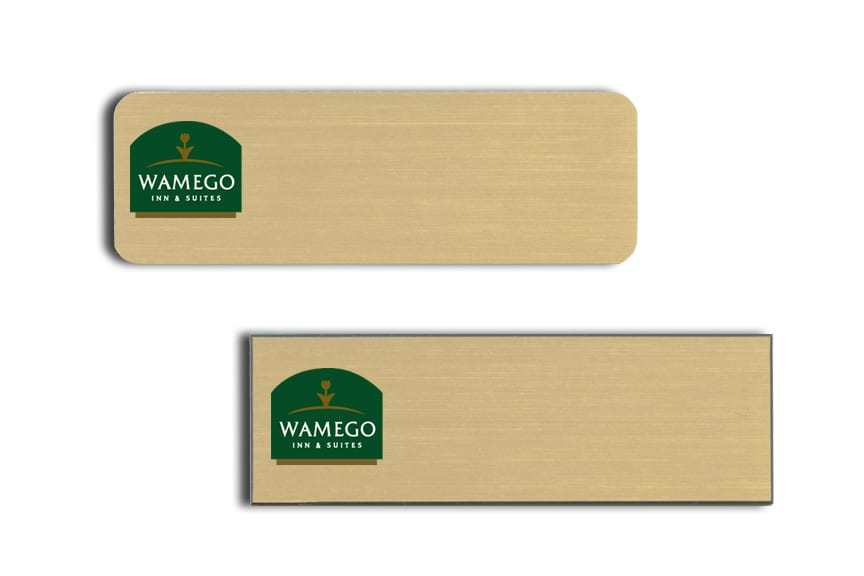 Wamego Inn and Suites name badges