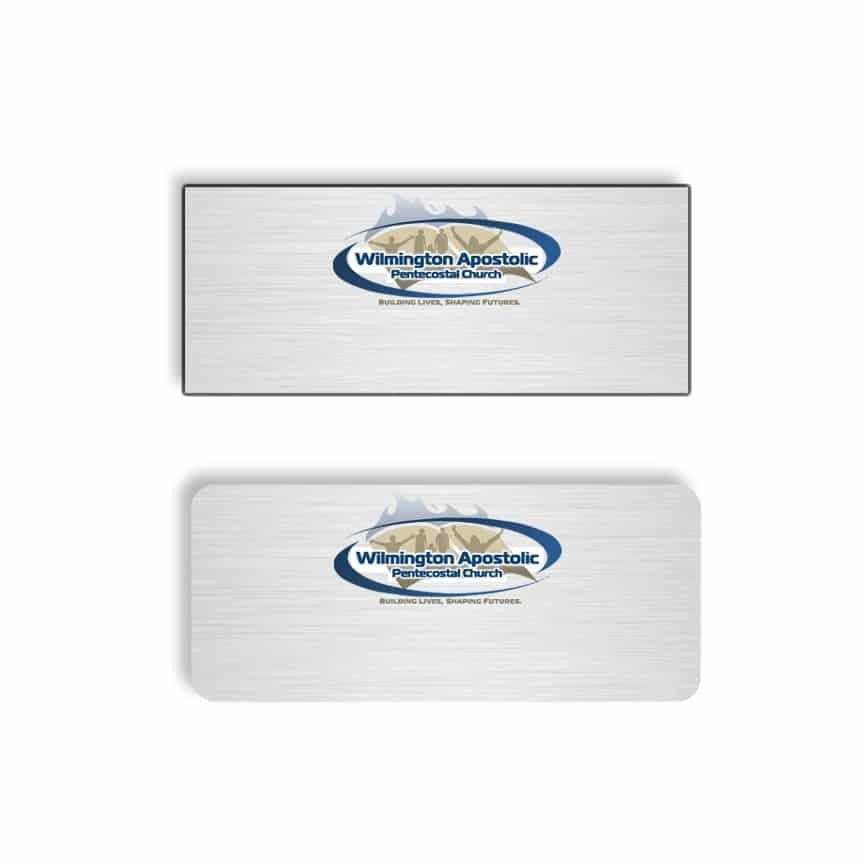 Wilmington Apostolic Church Name Badges