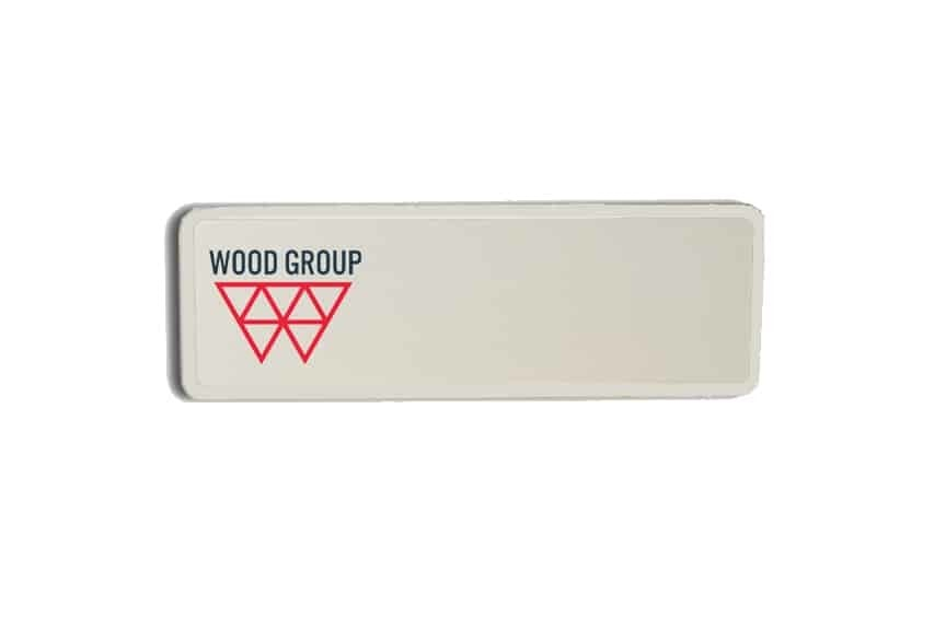 Wood Group Name Badges