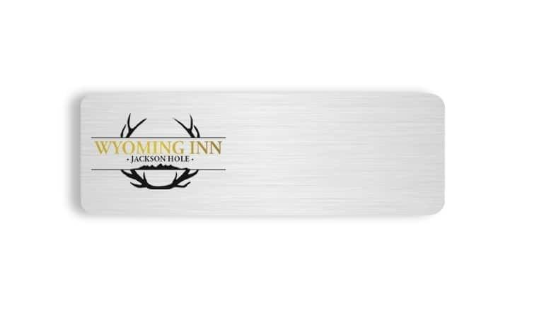Wyoming Inn name badges tags