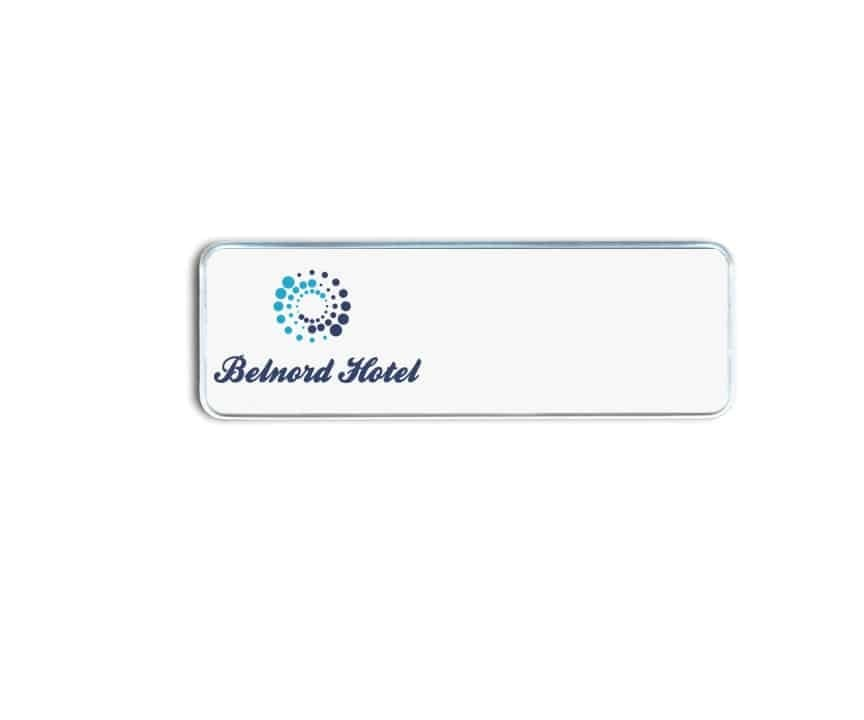 belnord hotel name badges